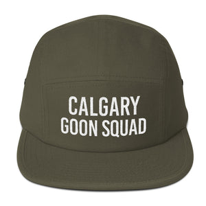 Calgary Goon Squad Five Panel - White Embroidery
