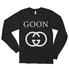 Designer Goon Long Sleeve - White Print