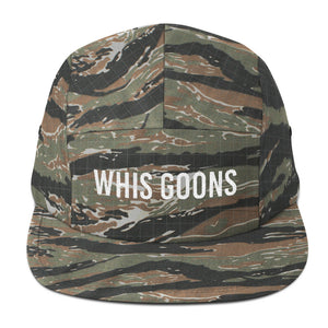 Whis Goons Five Panel - White Embroidery