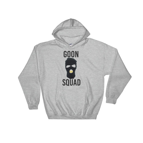Ski Mask Way Hooded Sweatshirt - Black Print