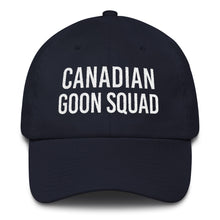 Canadian Goon Squad Dad Cap - White Embroidery