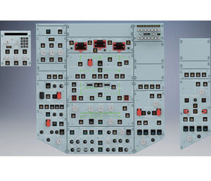 Overhead Panel - Lower Part