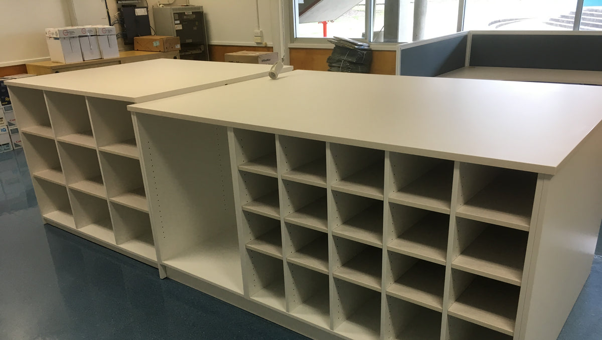 Southern Cross Distance Education Office Mail Room Storage Units