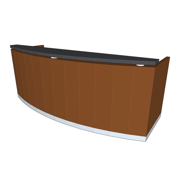 Custom Curved Reception Counter