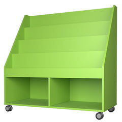 Tiered Book Display Storage Unit