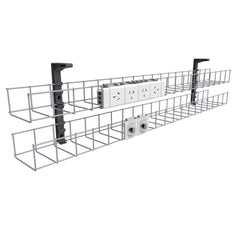 Dual Tier Cable Basket Kits
