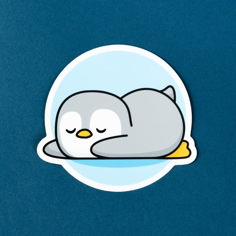 Penguin Sticker