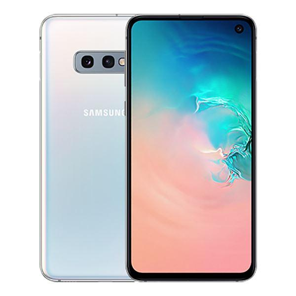 Samsung Galaxy S10e 128GB Prism White Unlocked Refurbished Excellent
