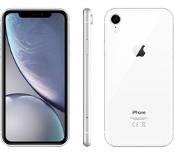 Apple iPhone XR 64GB White (No Face ID) Unlocked Refurbished Excellent