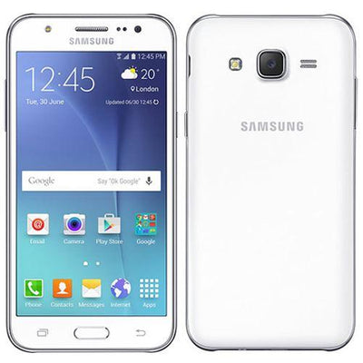 Samsung Galaxy J5 (2015) 8GB White Unlocked Refurbished Good
