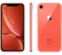 Apple iPhone XR 64GB Coral (No Face ID) Unlocked Refurbished Excellent