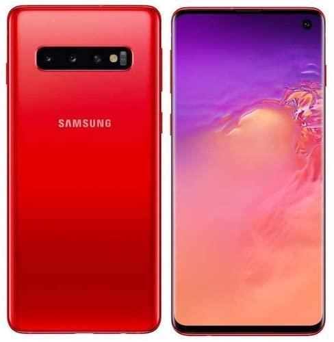 Samsung Galaxy S10 Plus 128GB Cardinal Red Unlocked Refurb Pristine