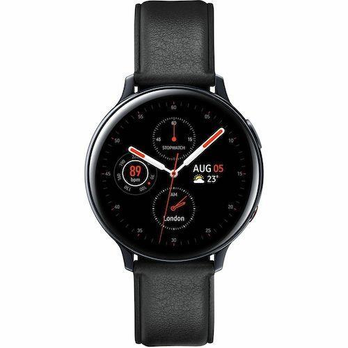 Samsung Galaxy Watch Active 2 Black Stainless Steel, 40mm (4G) Refurbished Excellent