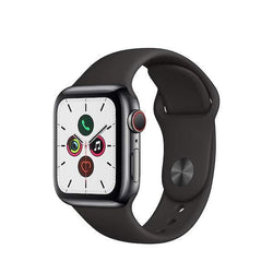 Apple Watch Series 5 GPS + Cellular 40mm Space Black Stainless Steel Refurb Pristine