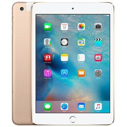 Apple iPad Mini 4 64GB WiFi + Cellular Gold Refurbished Excellent