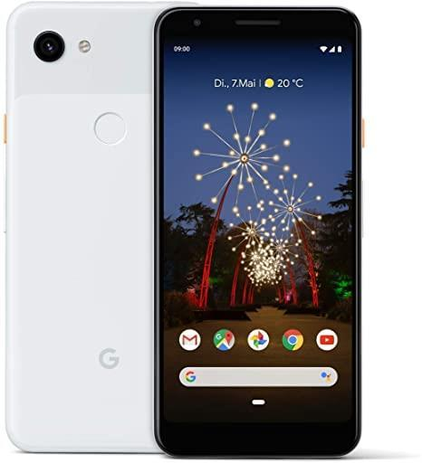 Google Pixel 3a XL 64GB Clearly White Unlocked Refurbished Pristine