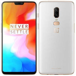 Oneplus 6 128GB Dual SIM Silk White Unlocked Refurbished Pristine