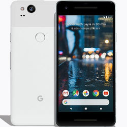 Google Pixel 2 64GB Clearly White Unlocked Refurbished Good