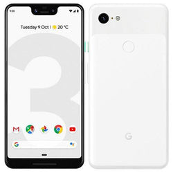 Google Pixel 3 XL 64GB Clearly White Unlocked Refurbished Good