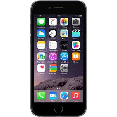 Apple iPhone 6 16GB Space Grey Unlocked Refurb Good (No Touch ID)