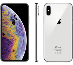 Apple iPhone XS 64GB Silver Unlocked Refurbished Pristine Pack