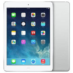 Apple iPad Air 32GB WiFi 4G Silver Unlocked Refurbished Good