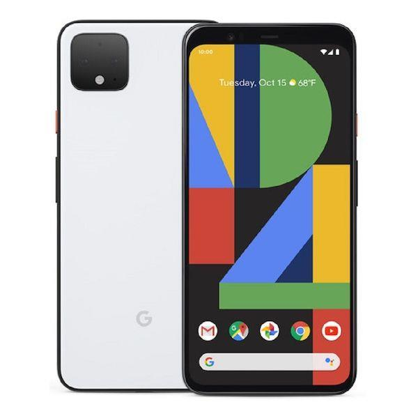 Google Pixel 4 128GB, Clearly White Unlocked Refurbished Pristine