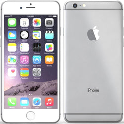 Apple iPhone 6 Plus 128GB Silver (No Touch ID) Refurbished Excellent