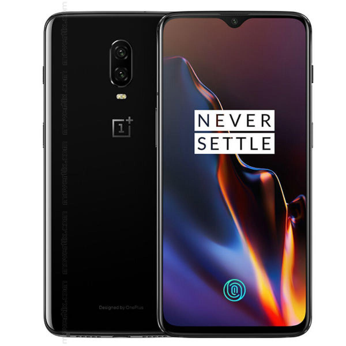 OnePlus 6T 128GB Mirror Black Unlocked Refurbished Pristine