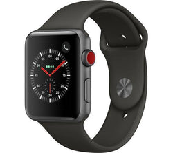Apple Watch Series 3 GPS Cellular 42mm Black Steel Refurbished Good
