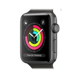Apple Watch Series 3 42mm Space Grey Aluminium GPS Refurbished Excellent