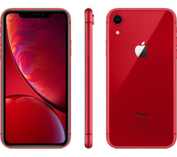 Apple iPhone XR 256GB Red Unlocked Refurbished Excellent
