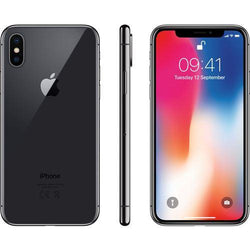 Apple iPhone X 256GB Space Grey Unlocked Refurbished Pristine Pack