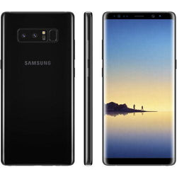 Samsung Galaxy Note 8 64GB Midnight Black Unlocked Refurbished Excellent