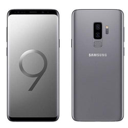 Samsung Galaxy S9 Plus 64GB, Titanium Grey Unlocked - Refurbished Good