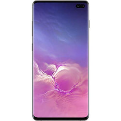 Samsung Galaxy S10 Plus 128GB Prism Black Unlocked Refurb Excellent