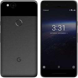 Google Pixel 2 128GB Just Black Unlocked Refurbished Pristine Pack