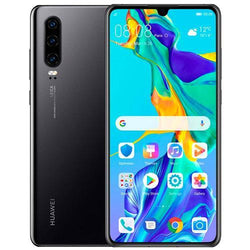 Huawei P30 128GB Midnight Black Unlocked Refurbished Pristine