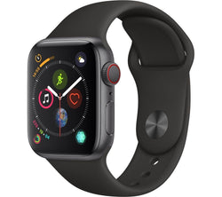 Apple Watch Series 4 - 40mm GPS Cellular Space Grey Refurbished Excellent
