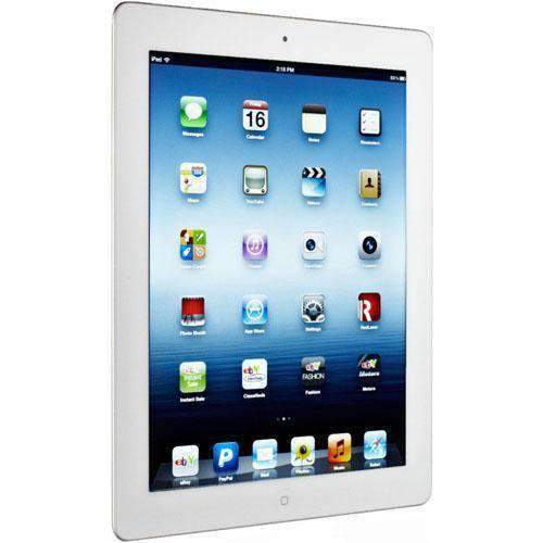 Apple iPad 3rd Gen Wi-Fi + Cellular 64GB White/Silver Unlocked - Refurbished Excellent Sim Free cheap