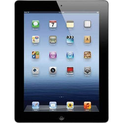 Apple iPad 3rd Gen WiFi 4G 16GB, Black Unlocked - Refurbished Good
