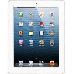 Apple iPad 4th Gen 64GB WiFi White/silver - Refurbished Excellent Sim Free cheap