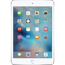Apple iPad Mini 4 128GB WiFi + 4G/LTE Silver Sim Free cheap