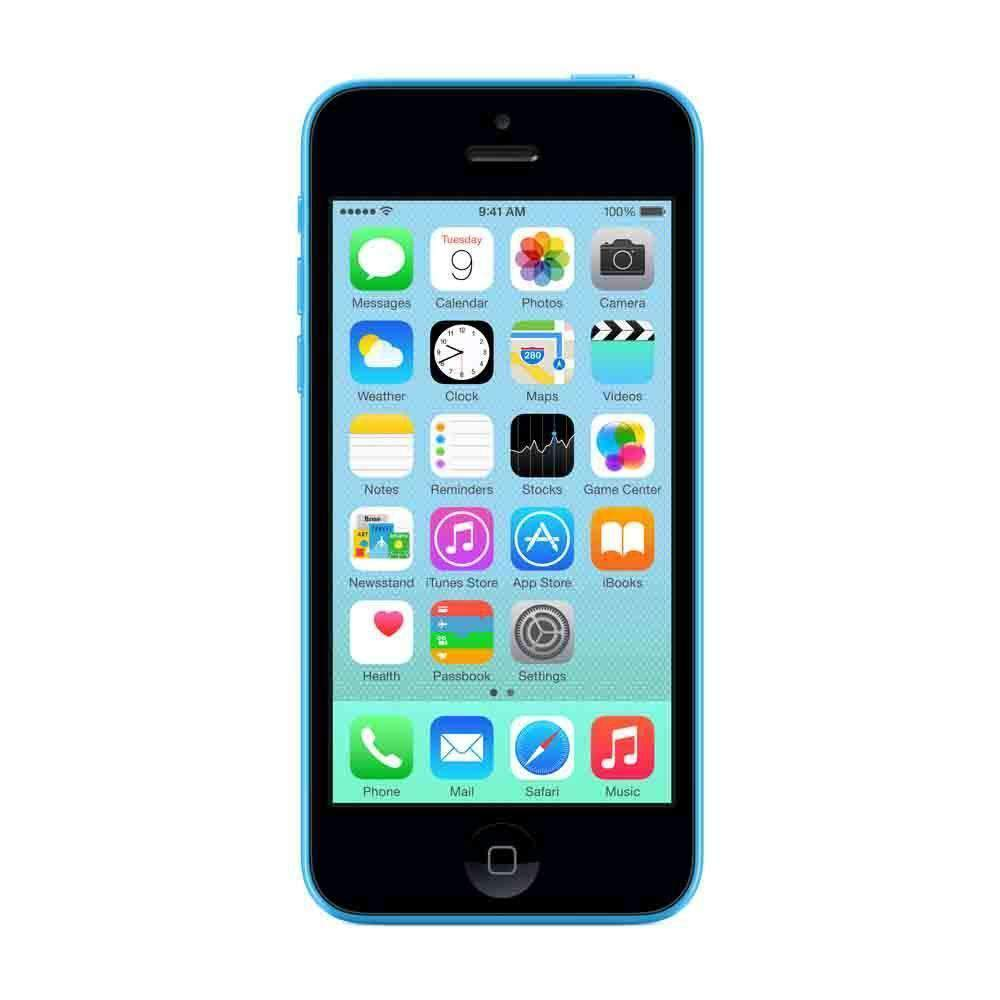 Apple iPhone 5C 8GB Blue Unlocked - Refurbished Excellent