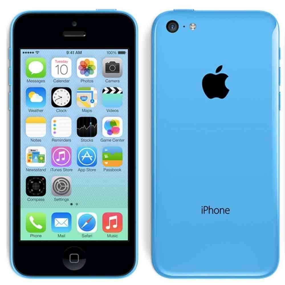 Apple iPhone 5C 8GB Blue Unlocked - Refurbished Excellent Sim Free cheap