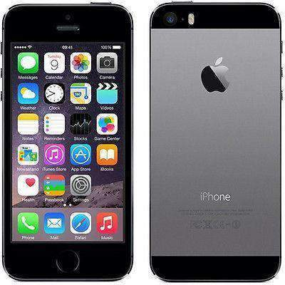 Apple iPhone 5S 16GB Space Grey Unlocked - Refurbished Very Good Sim Free cheap