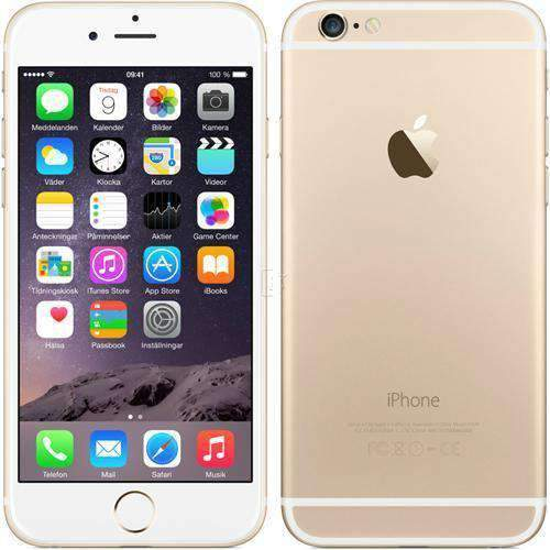 Apple iPhone 6 16GB Gold Unlocked Refurbished Excellent (NO TOUCH ID)