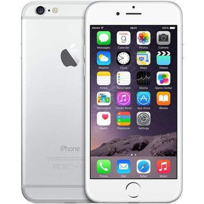 Apple iPhone 6 16GB, Silver Unlocked - Refurbished
