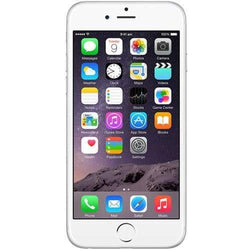 Apple iPhone 6 16GB, Silver Unlocked - Refurbished Good