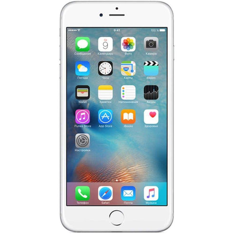 Apple iPhone 6 Plus 16GB, Silver Unlocked - Refurbished Good Sim Free cheap